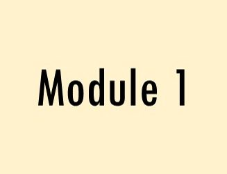 Module 1: A National Perspective & Overview of the FDC Model