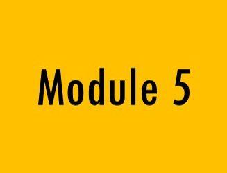 Module 5: Shared Outcomes